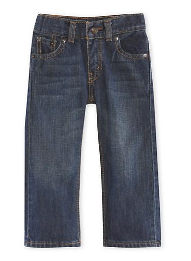 Toddler Boys Levis 505 Regular Jeans,DENIM,large