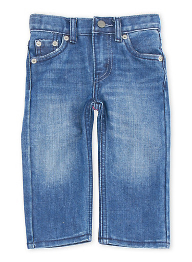 Baby Boy Levis 514 Straight Jeans,DENIM,large