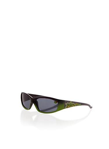 Kids Teenage Mutant Ninja Turtles Sunglasses,GREEN,large