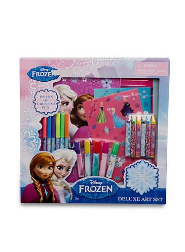 Frozen Deluxe Art Set,MULTI COLOR,large