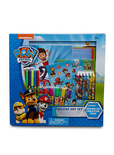 Paw Patrol Deluxe Art Set,MULTI COLOR,large