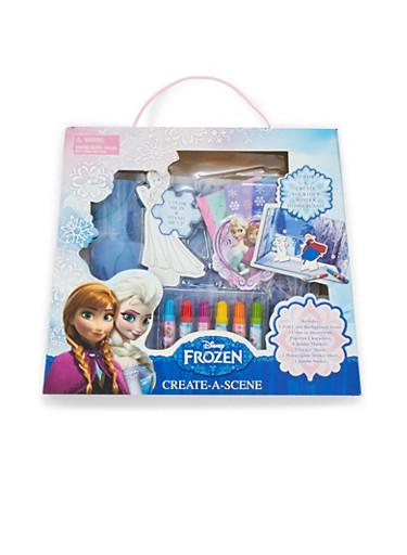 Disney Frozen Create-a-Scene Diorama Set,MULTI COLOR,large
