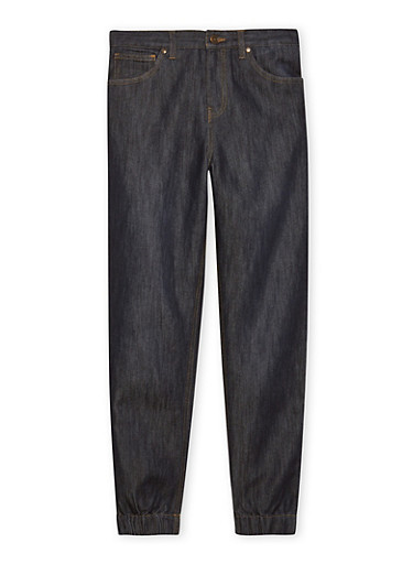 Boys 8-16 French Toast Denim Joggers,DENIM,large