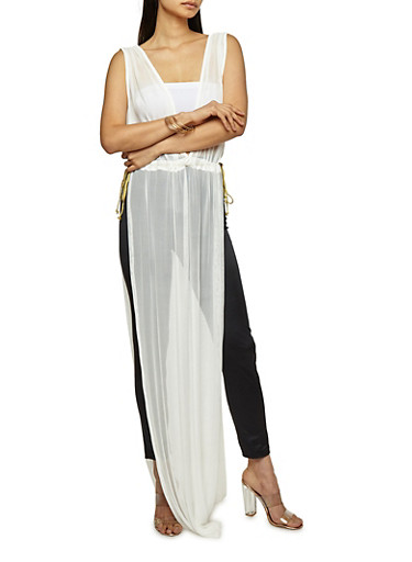 Mesh Open Side Maxi Top at Rainbow Shops in Daytona Beach, FL | Tuggl