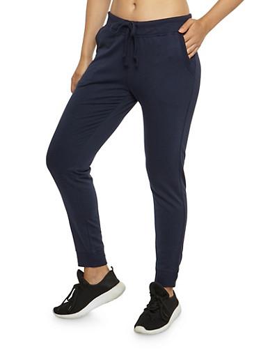 Solid Sweatpants,ECLIPSE,large