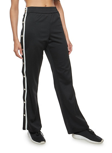 Track Pants with Varsity Stripe at Rainbow Shops in Jacksonville, FL | Tuggl