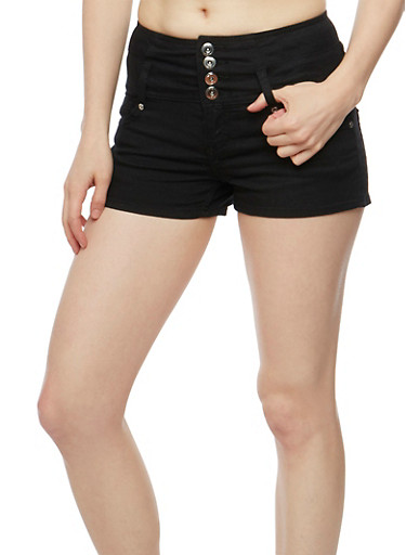 Almost Famous 4 Button Denim Shorts at Rainbow Shops in Daytona Beach, FL | Tuggl