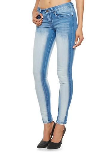 VIP Jeans in Sandblasted Stretch Denim,LIGHT WASH,large