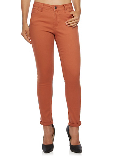 Colored Skinny Jeans,CINAMMON,large
