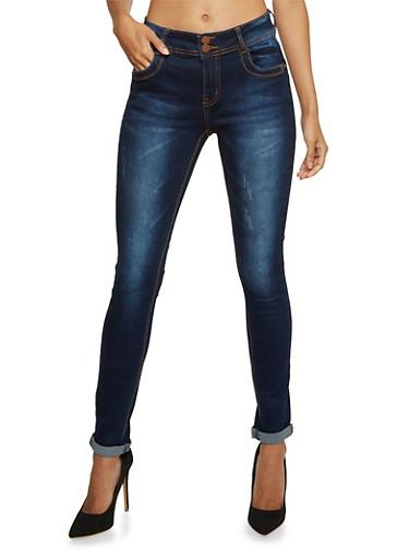 Classic Skinny Jeans,INDIGO,large