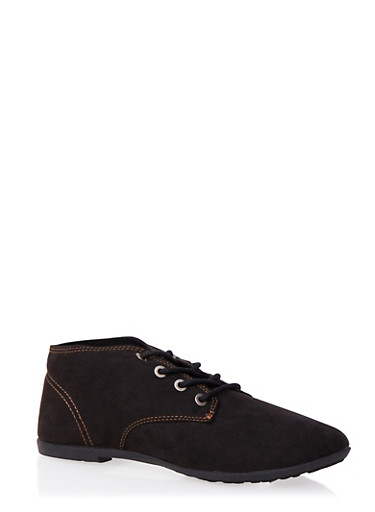 Derbys with Round Toes,BLACK,large