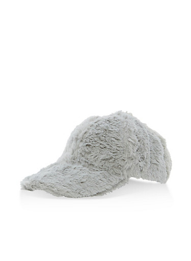 Faux Fur Baseball Cap at Rainbow Shops in Jacksonville, FL | Tuggl