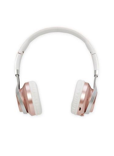 Foldable Bluetooth Headphones,ROSE,large