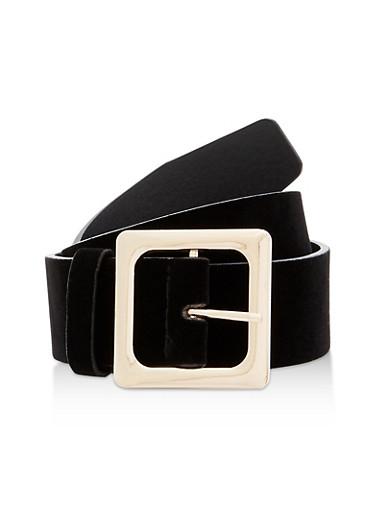 Velvet Belt,BLACK,large