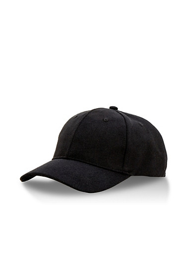 Solid Canvas Snapback Baseball Cap,BLACK,large