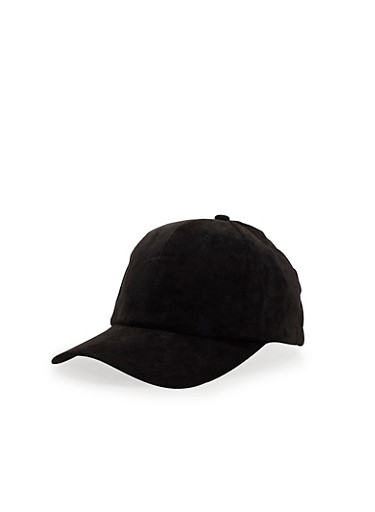 Corduroy Baseball Hat,BLACK,large