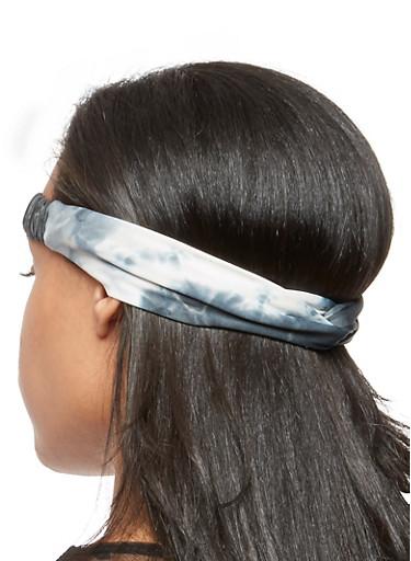 Tie Dye Headband Set of 2,MULTI COLOR,large
