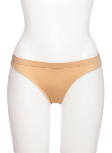 Seamless Thong Panties,NUDE,large