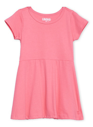 Toddler Girls Limited Too A-Line Dress,ROSE,large