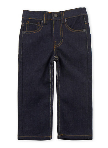 Toddler Boys Sean John Zipper Pocket Jeans,BLUE DENIM,large