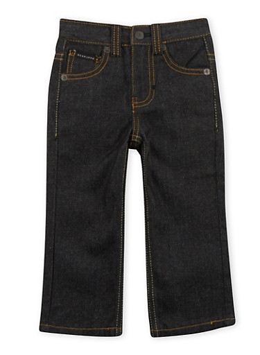 Toddler Boys Sean John Zipper Pocket Jeans,BLACK,large