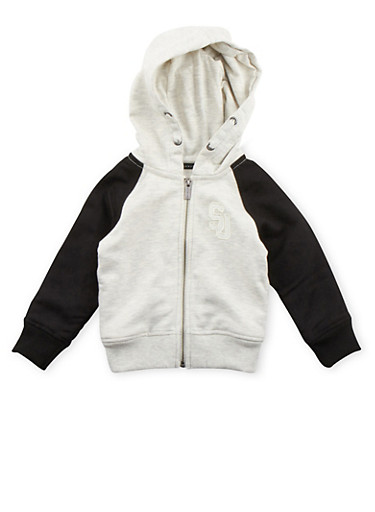 Toddler Boys Sean John Hoodie,IVORY,large