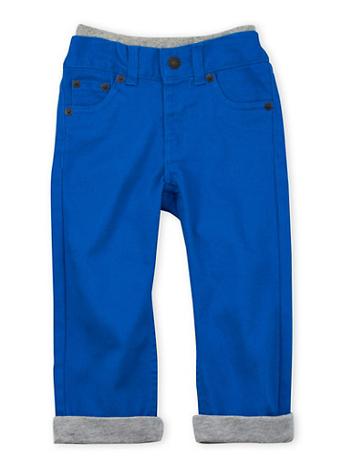 Toddler Boys Levis Colored 514 Straight Jeans with Contrast Lining,ROYAL,large