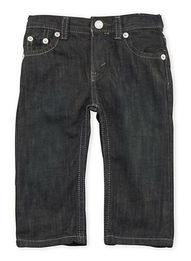 Baby Boy Levi's Five Pocket Jeans,DENIM,large