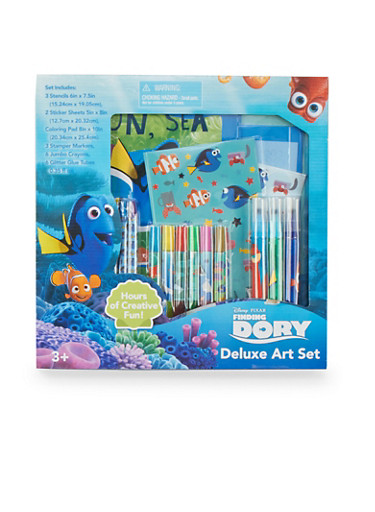 Finding Dory Deluxe Art Set,MULTI COLOR,large
