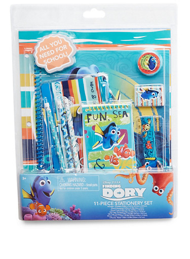 Finding Dory 11-Piece Stationery Set,MULTI COLOR,large