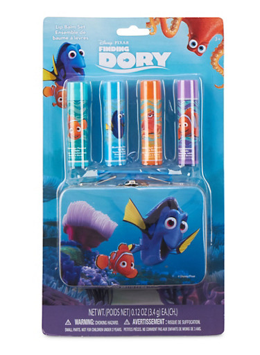 Finding Dory Lip Balm and Carrying Case Set,MULTI COLOR,large