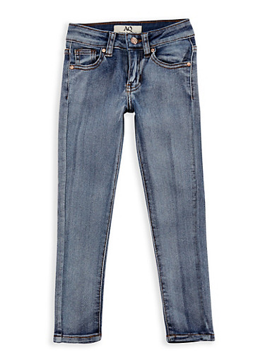 Girls 4-6x Classic Skinny Jeans,DENIM,large