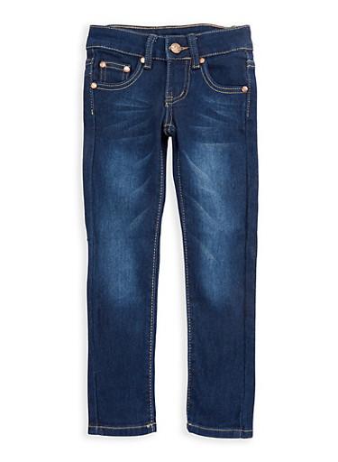 Girls 4-6x Dark Wash Denim Skinny Jeans