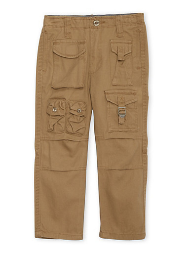 Boys 4-7 Sean John Cargo Pants,KHAKI,large