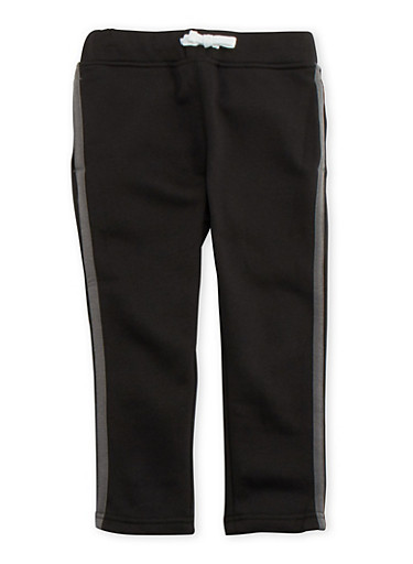 Boys 4-7 French Toast Track Pants,BLACK,large