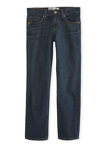 Boys 8-20 Levi's Slim Fit Jeans,DENIM,large
