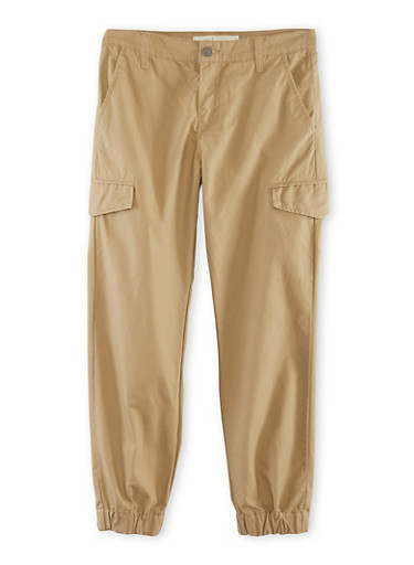 Boys 8-20 Levis Twill Cargo Joggers,GOLD,large