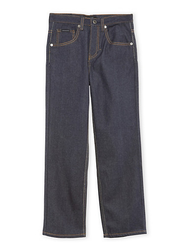 Boys 8-20 Sean John Jeans with Zippered Pockets,NAVY,large