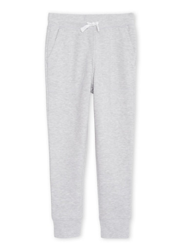 Boys 8-16 French Toast Joggers,HEATHER,large