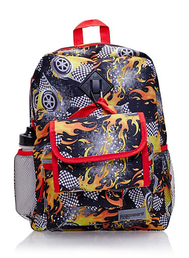 5-Piece Printed Backpack Set,MULTI COLOR,large
