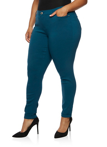 Plus Size Push Up Stretch Jeans at Rainbow Shops in Jacksonville, FL | Tuggl