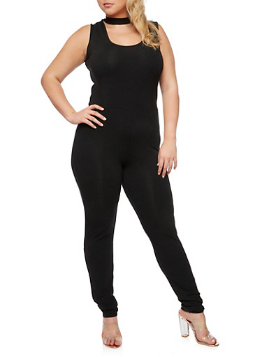 Plus Size Sleeveless Catsuit at Rainbow Shops in Daytona Beach, FL | Tuggl