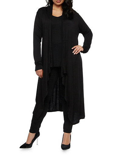 Plus Size Long Cardigan at Rainbow Shops in Jacksonville, FL | Tuggl