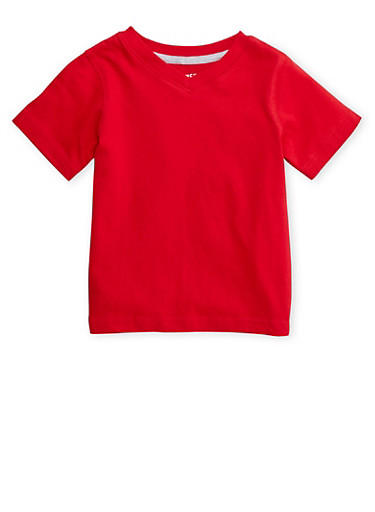 Toddler Boys French Toast T-Shirt,RED,large