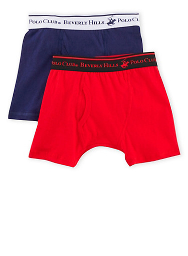 Boys 4-18 BHPC Boxer Brief 2 Pack,WHITE,large