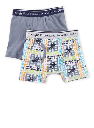 Boys 4-18 BHPC Boxer Brief 2 Pack,GRAY,large