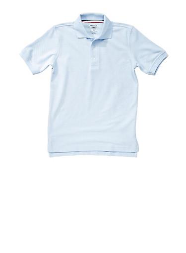 Boys 4-7 Short Sleeve Pique Polo School Uniform at Rainbow Shops in Daytona Beach, FL | Tuggl