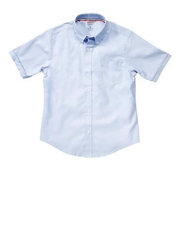 Boys 16-20 Short Sleeve Oxford Shirt School Uniform at Rainbow Shops in Daytona Beach, FL | Tuggl