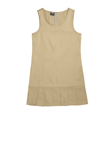 Girls 2T-4T Pleated Hem Jumper School Uniform at Rainbow Shops in Daytona Beach, FL | Tuggl