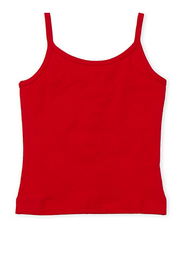 Girls 4-6x French Toast Red Cami Top,RED,large